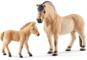 Schleich Tierfiguren Pferde Duo Fjord