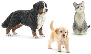 Schleich Tierfiguren Drei Freunde