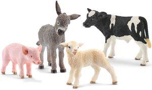 Schleich Tierfiguren Nachwuchs auf dem Bauernhof