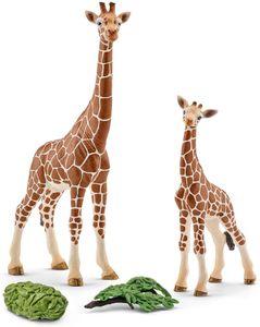 Schleich Tierfiguren Giraffenkuh mit Baby