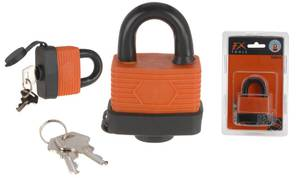 Vorhangschloss wasserdicht incl. 2 Schlüssel