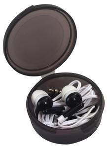 InEar Stereo Kopfhörer mit 3,5 mm Klinkenstecker + Aufbewahrungsbox