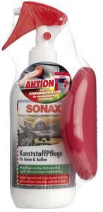 Kunststoffpflege Innen & Außen Aktions - Set Sonax