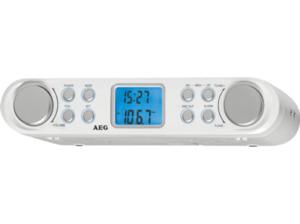 AEG. KRC 4344, Radio, UKW, Weiß