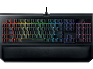 RAZER BlackWidow Chroma V2 Green Switches, Gaming Tastatur