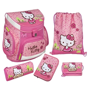 Scooli - Hello Kitty: Ranzenset Campus Up, 5-tlg.