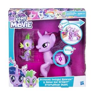 My Little Pony - Freundschaft ist Magie: Singendes Duo, Prinzessin Twilight Sparkle & Spike, der Drache