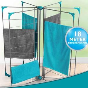 Deluxe-Wäscheständer 18m Trockenstäbe von Beldray