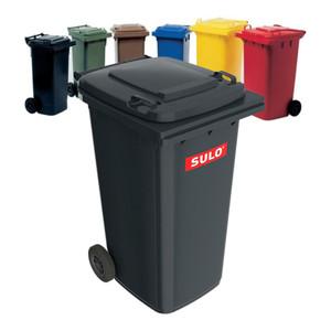 Sulo Müllgroßbehälter 240l gelb a.Niederdruck-PE Rad-D.200mm