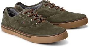 Sneaker PAULIE 7B von Tommy Hilfiger in khaki für Herren. Gr. 40,41
