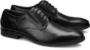 Business Schnürschuh von Bugatti in schwarz für Herren. Gr. 44