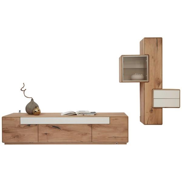 valnatura wohnwand wildeiche massiv wei von xxxlutz ansehen. Black Bedroom Furniture Sets. Home Design Ideas
