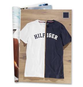 TOMMY HILFIGER             Schlafshirt, Print, reine Baumwolle