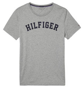 TOMMY HILFIGER             Schlafshirt, Logo-Print