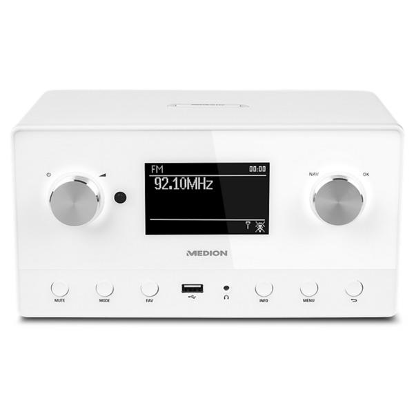 MEDION LIFE P85066 WiFi Stereo Internet-Radio, Multiroom-Funktion ...