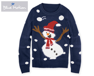 Blue Motion Weihnachts-Pullover