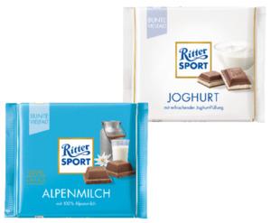 Ritter Sport Bunte Vielfalt Tafelschokolade