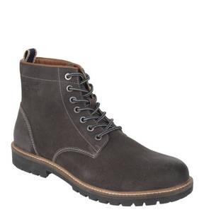 Rover & Lakes             Stiefel, Leder, Schnürung, Profil-Sohle