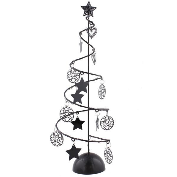 Weihnachtsbaum Metall Spirale.White Label Weihnachtsbaum Spirale Mit Led Beleuchtung