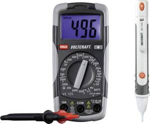Hand-Multimeter digital VOLTCRAFT DT-TEST-KIT 150