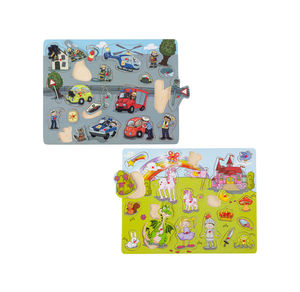 Happy People Maxi Holzpuzzle, ca. 45x35cm