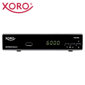 HDTV-Sat-Receiver HRS 8556v2 • 4-stelliges Display, EPG • Einkabel-System • HDMI-/Scart-/USB-/Ethernet-Anschluss