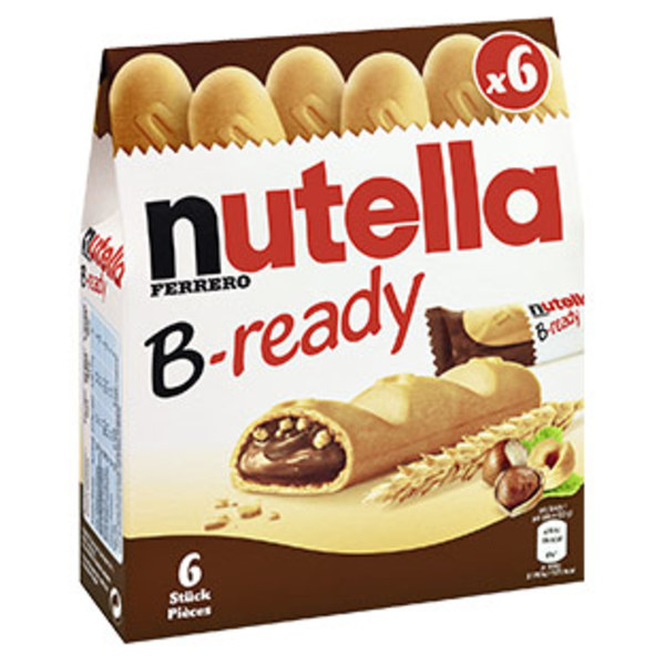 Nutella B-ready jede 132-g-Packung