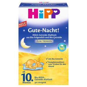 HiPP Gute Nacht! Bio-Milch-Getreide-Mahlzeit zum Trinke 11.90 EUR/1 kg