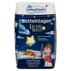 babydream Betteinlagen Lauras Stern