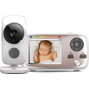 Motorola digitales Babyphone mit Farbdisplay & Wi-Fi MBP667CONNECT