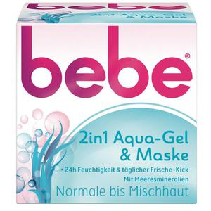 bebe® 2in1 Aqua-Gel & Maske 7.70 EUR/100 ml