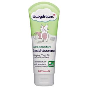 Babydream extra sensitive Gesichtscreme