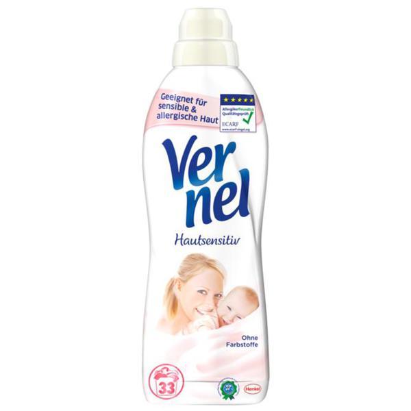 Vernel Weichspülerkonzentrat Hautsensitiv, 33 WL 0.04 EUR/1 WL