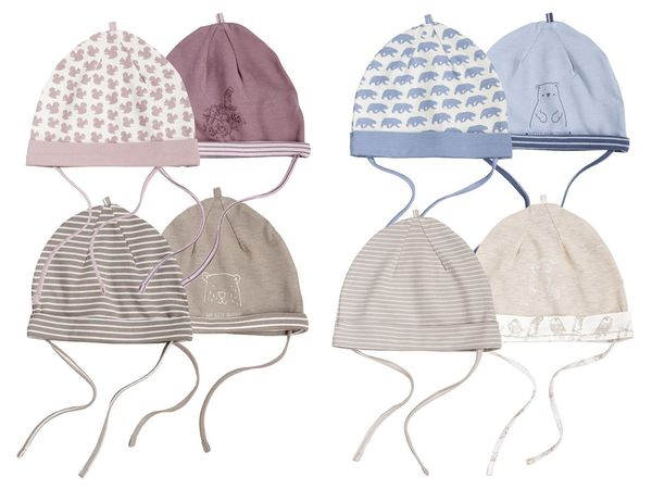 LUPILU® PURE COLLECTION 2 Baby Mützchen
