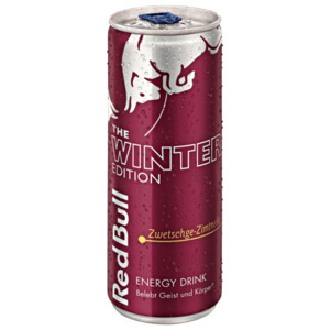 Red Bull Winter Zwetschge Zimt 0,25l