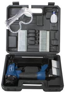 Druckluft Klammer-und Nagelpistole 2 in 1 - inklusive Zubehör Scheppach