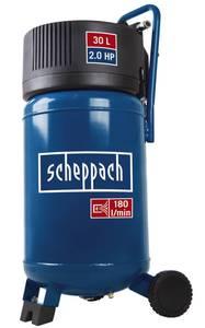 Kompressor HC30V, 30 Liter, 10 bar, 1,5 KW Scheppach