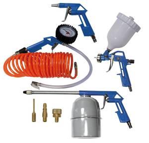 Druckluft Werkzeugset, 8-teilig Scheppach