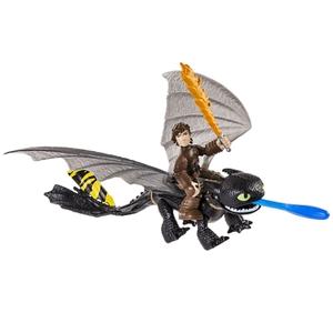 Dragons - Drachen + Reiter, Toothless & Dragon Eye
