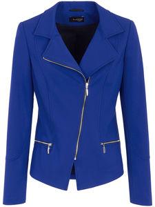 Jersey-Blazer Looxent blau