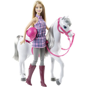 Mattel Barbie - Pferd und Puppe