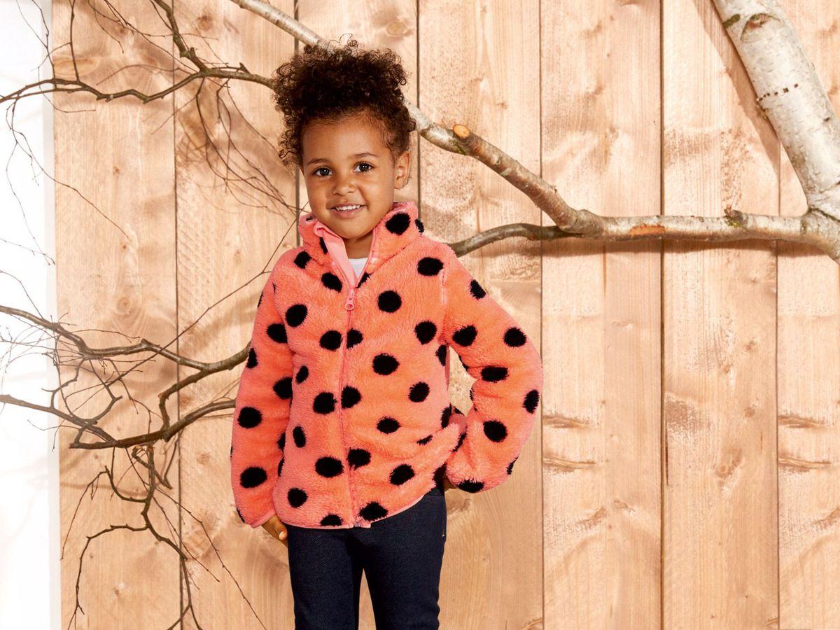 Bild 3 von LUPILU® Kleinkinder Mädchen Teddyfleecejacke