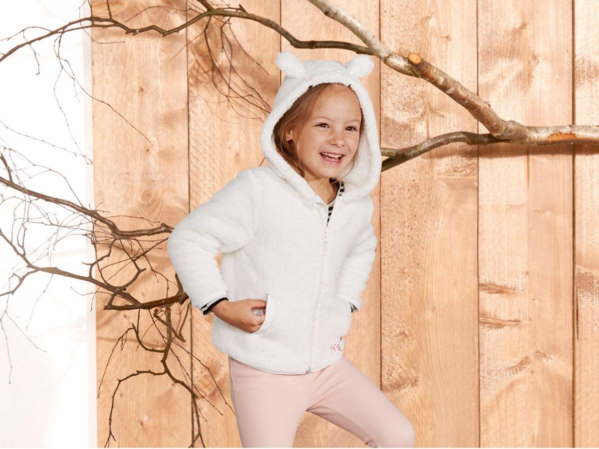Bild 5 von LUPILU® Kleinkinder Mädchen Teddyfleecejacke