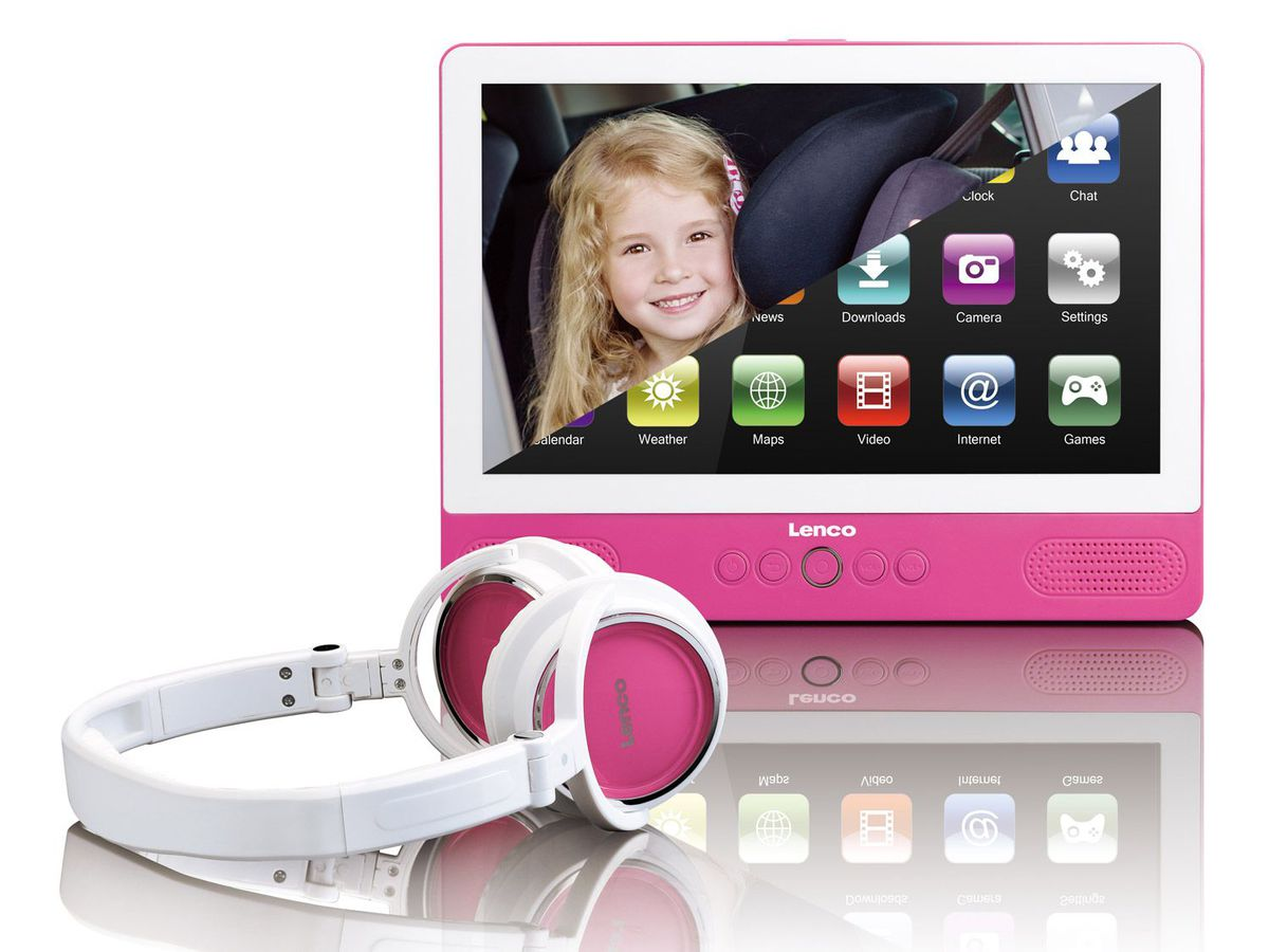 Bild 3 von Lenco Portabler DVD-Player / Tablet TVD-900