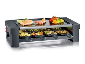SEVERIN Raclette-Grill RG 2687 - Pizza meets Raclette