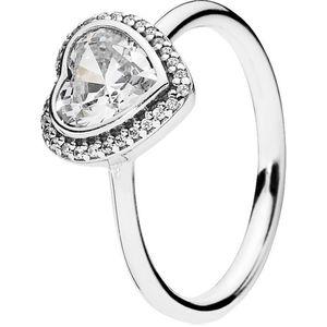Pandora Damen Ring Liebesbund ´´190929CZ´´, 925er Silber, 56