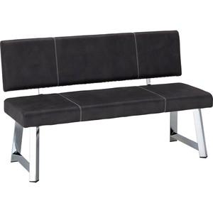 Sitzbank in Grau