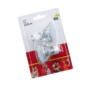 LED-Leuchtmittel GU10 3W 230Lm 2er-Set