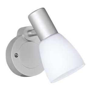 LED-Spot Metz Glas Opal matt Weiß 1-flammig