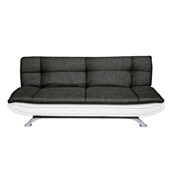 schlafsofa jason stoffbezug dunkelgrau ca 190 x 83 x 93 cm von m bel boss ansehen. Black Bedroom Furniture Sets. Home Design Ideas